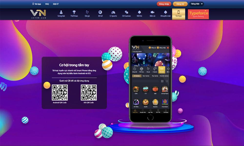 Link Tải App VN138